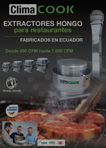 Imagen 1 de 10 de Extractor Hongo De Grasa Climacook Ecuador Desde $558