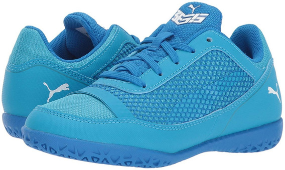 Tenis Puma 365 Nf Ct Futbol Soccer Electric Blue Lemonade Oc