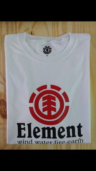 Remeras Element, Reef, Vans, Etc - Pack X 6