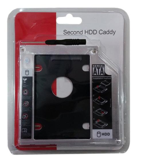 Gaveta Caddy Para Mac Segundo Hd/ssd 2.5 Sata/sata 9,5mm