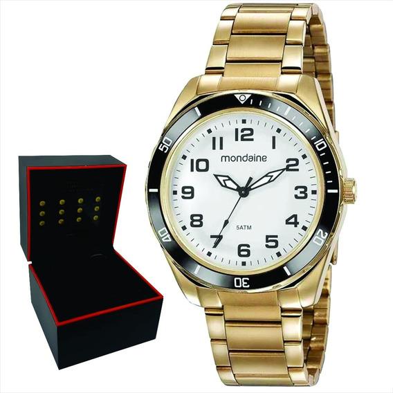 Relógio Mondaine Masculino Original Garantia Nf 53768gpmvde3