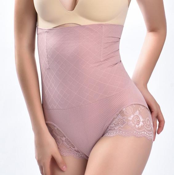Panty Faja Invisible Levanta Glúteos Tipo Colombiana Confort
