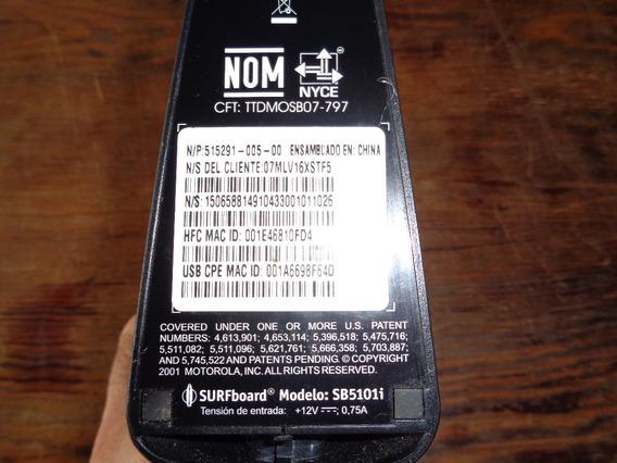 Cablemódem Motorola Surfboard Sb5100i Usado C/trafo Funciona