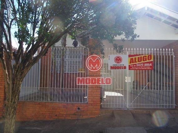 Casa Com 2 Dormitórios Para Alugar, 89 M² Por R$ 1.300/mês - Vila Monteiro - Piracicaba/sp - Ca2659