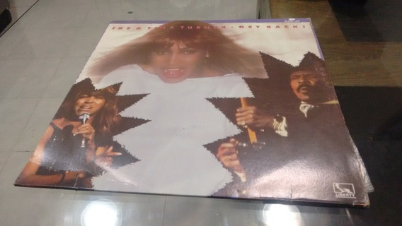 Lp Ike And Tina Turner Get Back! En Acetato,long Play