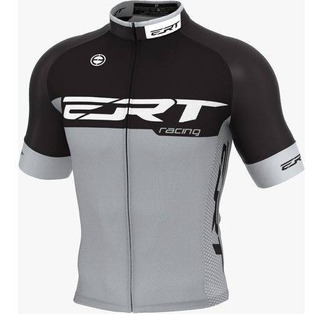 Camisa Ert Elite Racing Cinza Ciclismo Mtb + Brinde