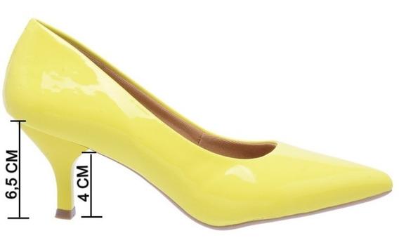 Sapato Scarpin Luxo Social Festa Modelo Fashion Prime Vegano