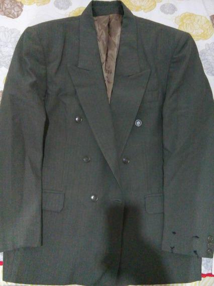 Blazer Ralph Lauren - Novo:: 6 Botões Cor: Oliva 40s/ 50