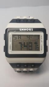 Relógio Lego Digital Luz Led Shhors