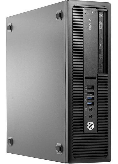Cpu Hp Elitedesk 800 G2 Core I5 6ªg Ssd 120gb 4gb Ram Wifi