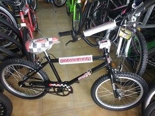 Bicicleta Rodado 20 Cross Bmx Nene!!!!