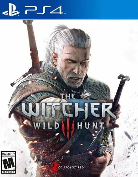 The Witcher 3 Wild Hunt Ps4 Midia Digital Envio Imediato