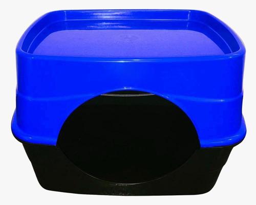 10 Tocas Casas Casinhas Cama Cachorro Gato Cão Azul