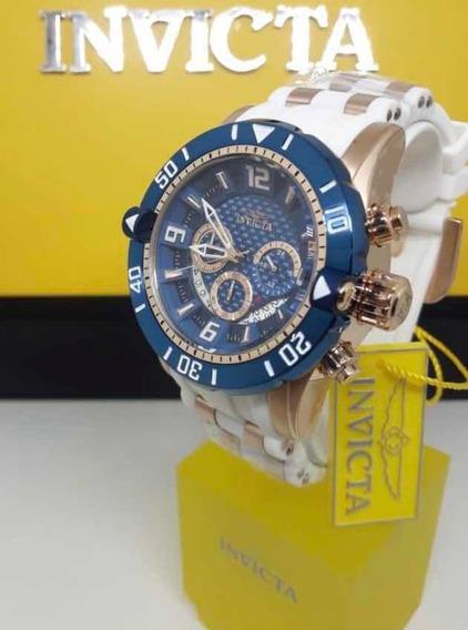 Relógio Invicta Pro Diver 23709 - Ouro Rosê - 100% Original