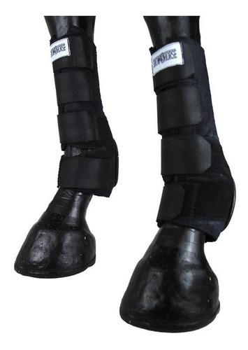 Imagem 1 de 6 de Skid Boot Caneleira Traseira Preta