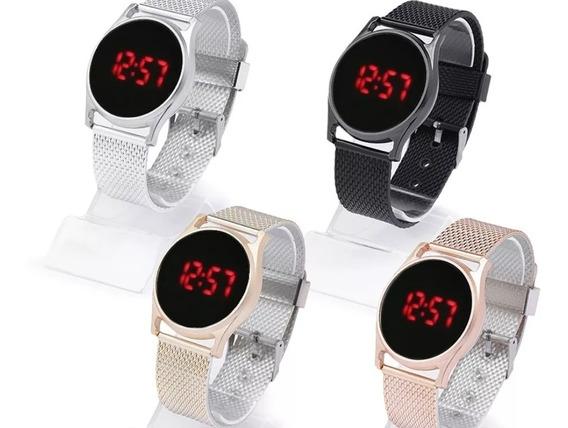 20 Relógios Mulher/homem Touch Screen Atacado Revenda Barato
