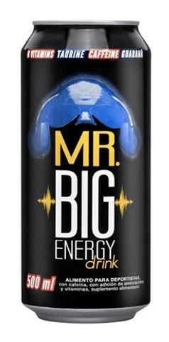 Mr Big Energy Drink 500cc (24 Unidades)