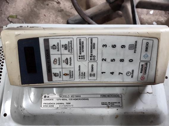 Placa Controle Microondas Lg Ms1944 Ms1944a (somente Placa)