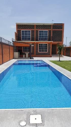 Casa Nueva Alberca Palapa Chapoteadero Jardin Barata