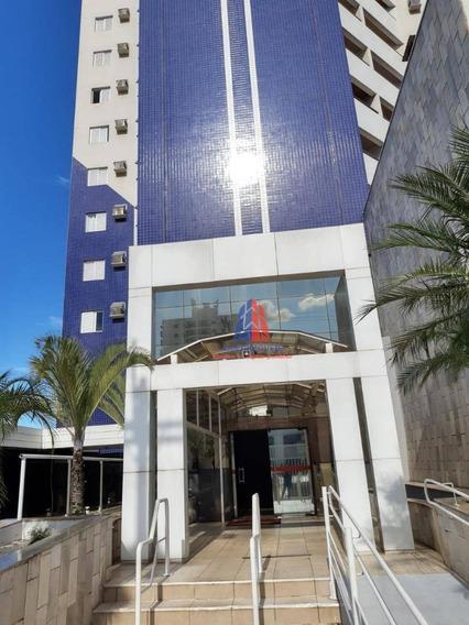 Apartamento Com 2 Dormitórios Para Alugar, 64 M² Por R$ 1.350/mês - Edifício San Francisco - Centro - Americana/sp - Ap1082