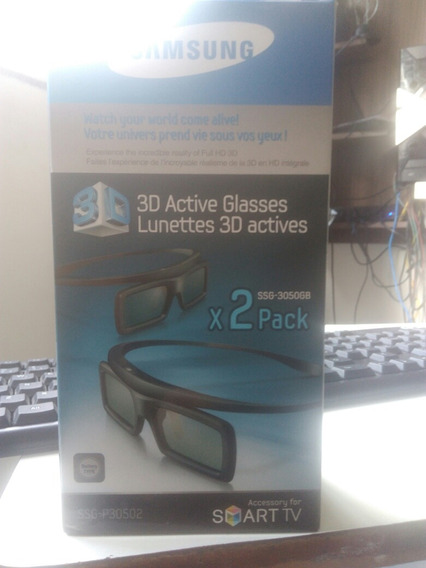 Par De Oculos 3 D Para Smart Tv Samsung