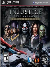 Injustice Gods Among Ultimate Ed Ps3 - Dublado Br - Cód. Psn