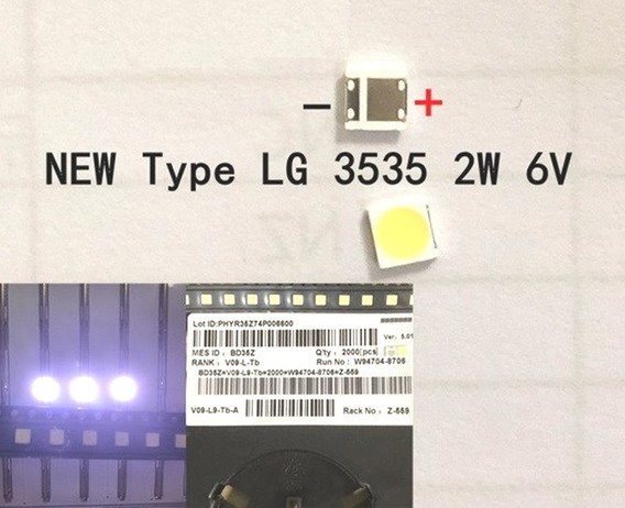 Kit 10 Led P/ Barra Tv Lg 42lb6500 42lb5800 42lb6200