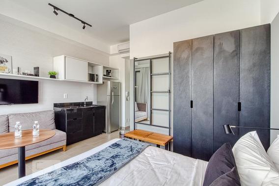 Apartamento Para Aluguel - Vila Olímpia, 1 Quarto, 27 - 893094674