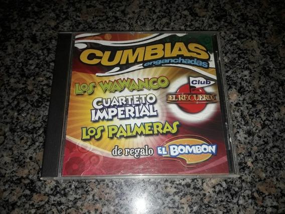Cd Cumbias Enganchadas, Wawanco, Cuarteto Imperial, Palmeras