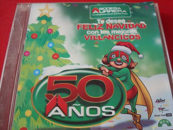 Villancicos Pop-cd Promocional Bodega Aurrera-50 Años