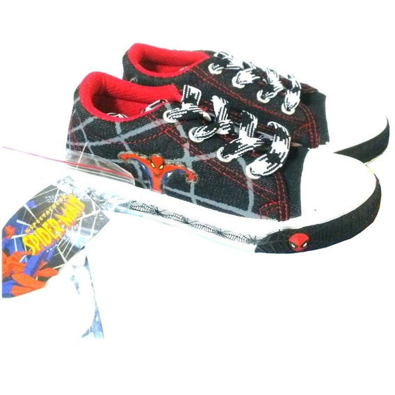 Zapatos Spiderman Talla 32 33 Tipo Convers S14