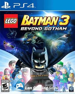 Lego Batman 3 Beyond Gotham Ps4 Playstation 4 + Poster