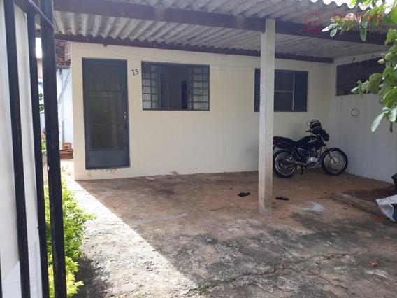 Casa Residencial À Venda, Parque Euclides Miranda (cecap), Sumaré. - Ca0765