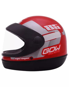 Capacete Moto Gow Automatico Selo Inmetro N 56