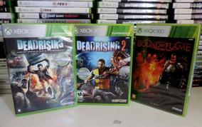 Dead Rising 1 E2 Usado + Boud By Flame Novo Para Xbox 360