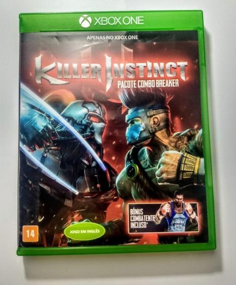 Killer Instinct Combo Breaker - Xbox One Mídia Física Em 12x