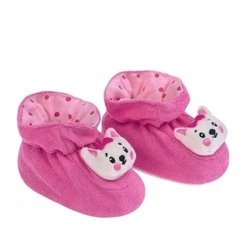 Pantufa Fofura Pimpolho Baby Gatinha Rosa 008180