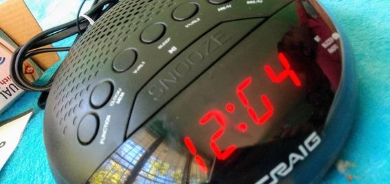 Radio Reloj Despertador Con Blue Tooth Alarma