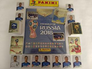 Mundial Rusia 2018 Set Completo Barajitas + Album Panini