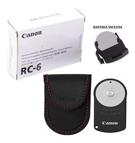 Controle Remoto Rc-6 Original Canon T2i T3i T4i T5i T6i T7i