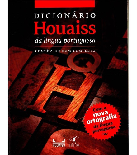 Novo Dicionário Houaiss Da Lingua Portuguesa-c/cd