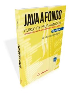 Libro Java A Fondo - Curso De Programación 3ª Edición