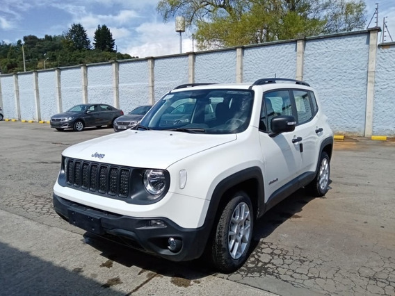 Jeep Renegade Sport Plus 1.8 Aut 2020 Blanco Alpino