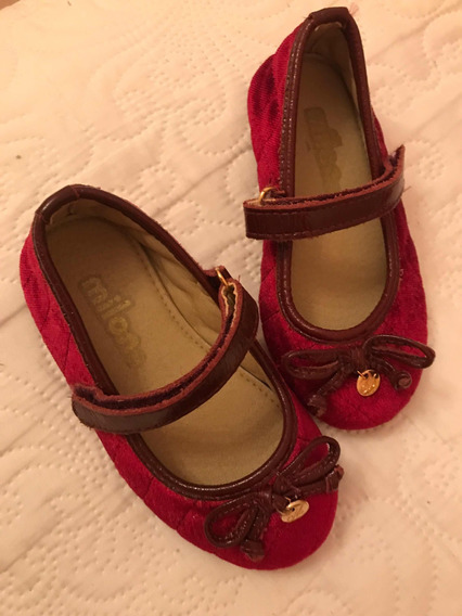 Sapato De Veludo Milon