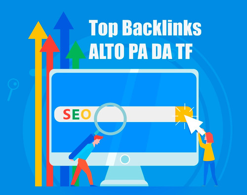 Imagem 1 de 1 de 6900 Backlinks Alto Da Pa Tf + Edu Gov + Indexação + Bônus
