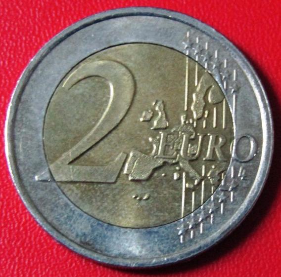 Holanda Moneda Bimetalica 2 Euros 2001 Unc Km # 241