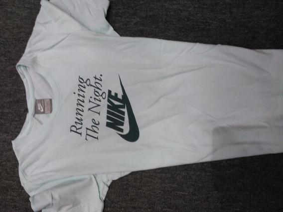 Remera Nike,talle L,algodón, M/corta,poco Uso,preciosa!!!!