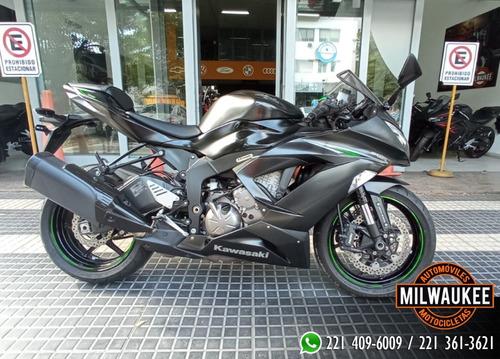 Kawasaki Ninja 636 Cc/ 2017 / Milwaukee La Plata