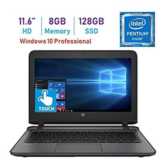 Notebook Hp Probook 11.6 Polegadas Touch Screen 8gb Ddr4. 128gb Ssd - Intel Pentium - Novo - Windows 10 64bits Pro.
