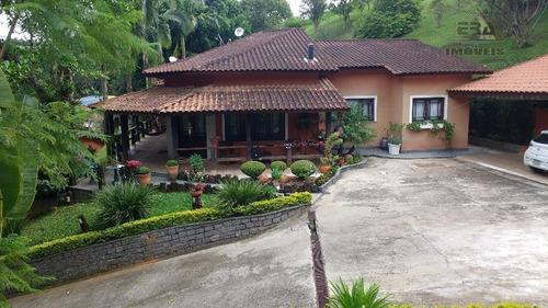 Chácara Residencial À Venda, Pedreira, Arujá - Ch0048. - Ch0048